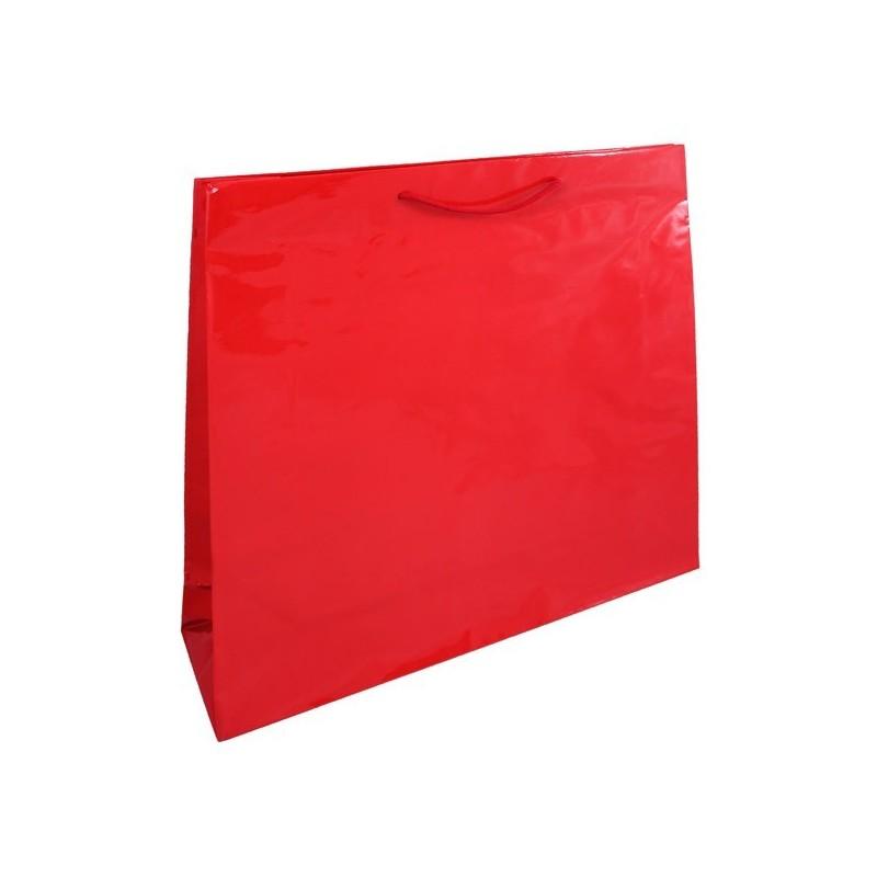 Papírová taška bílá Takeaway 26x17x24