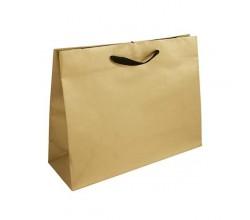 Papírová taška hnědá Toptwist 24x11x31
