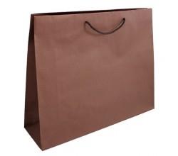 Papírová taška hnědá Toptwist 54x15x49