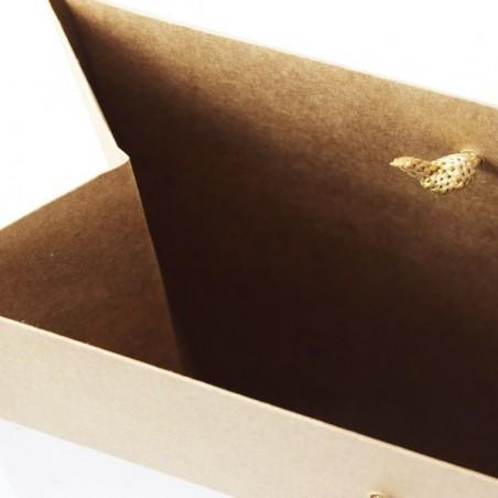 Papírová taška bílá Toptwist 54x15x49