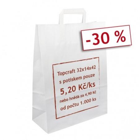 Stříbrná taška Toptwist 24x11x31