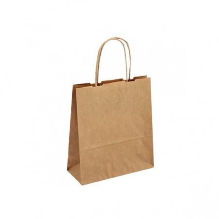 Dárková taška kaštan. Elegance 60x15x43