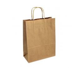 Dárková taška kaštan. Elegance 25x11x19