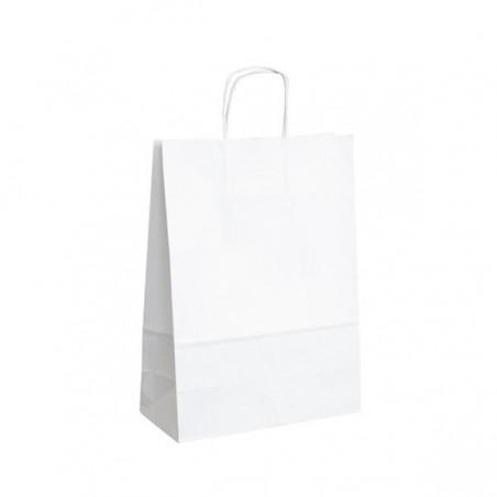 Vánoční taška fialová Snowflake 32x14x42