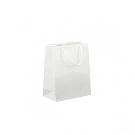 Hnědá taška 32x14x42 s hnědým potiskem