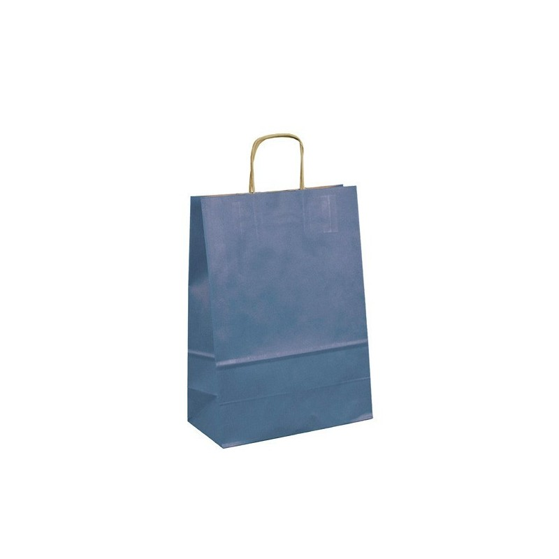Papírová taška bílá Twister 23x10x33