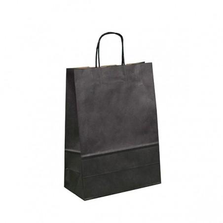 Papírová taška bílá Twister 33x12x29