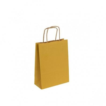 Papírová taška bílá Toptwist 19x8x21