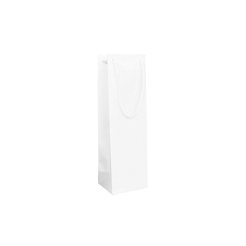 Papírová taška bílá Extratwist 32x17x39