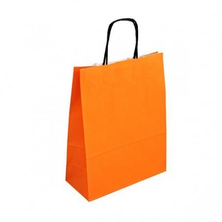 Papírová taška hnědá Topcraft 20x10x28