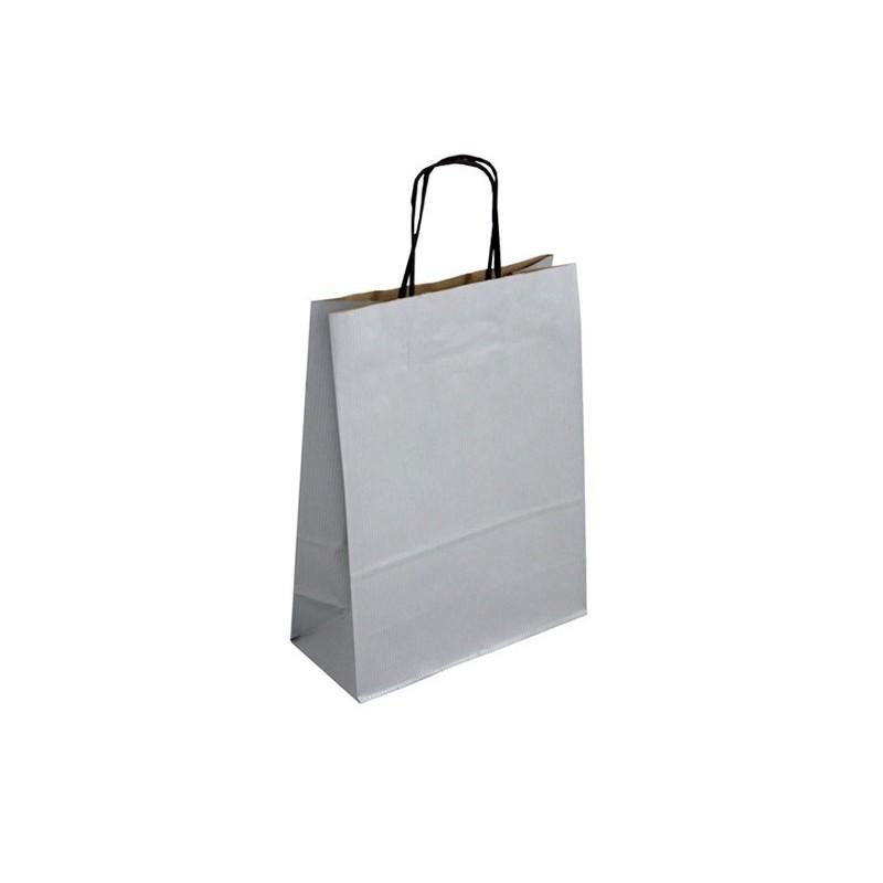 Papírová taška hnědá Topcraft 22x10x36