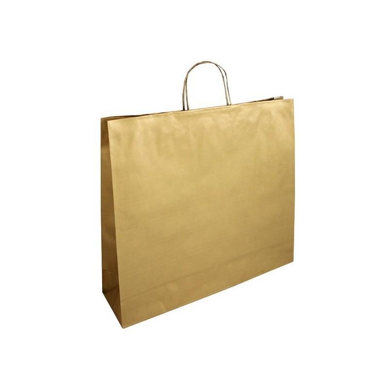 Papírová taška hnědá Topcraft 40x16x45