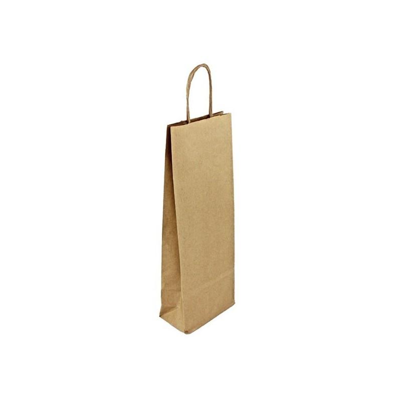 Papírová taška hnědá Topcraft 45x17x48