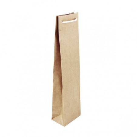 Papírová taška bílá Topcraft - detail ucho