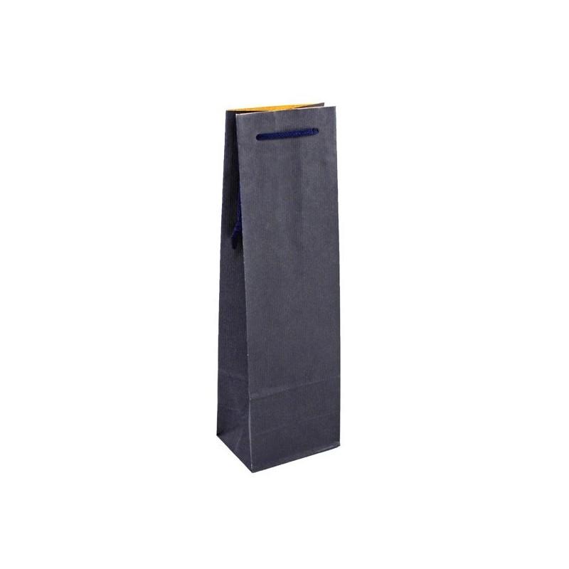 Taška na víno modrá Blu Glass 12x9x36