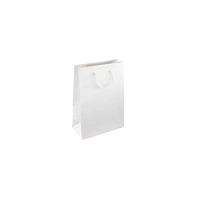 Dárková taška bílá Milano 16x8x24