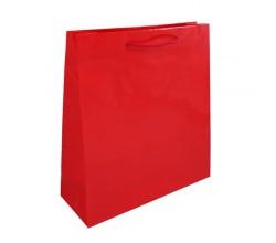 Dárková taška červená Milano 36x12x40