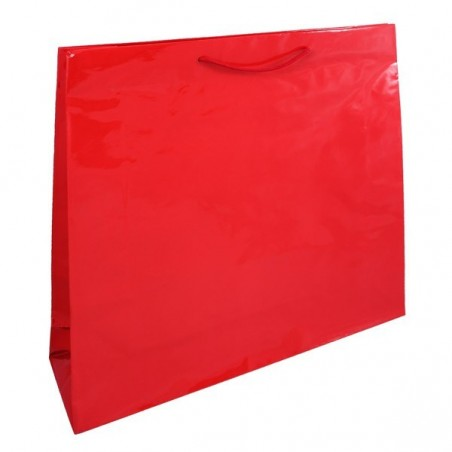 Papírová taška bílá Takeaway 26x17x25