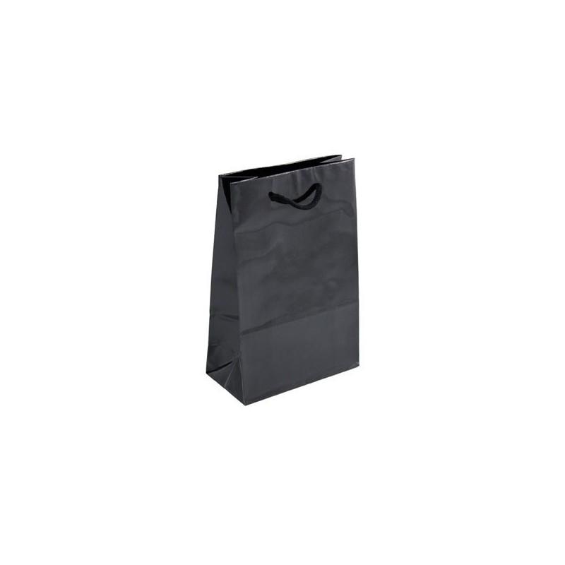 Dárková taška černá Milano 16x8x24