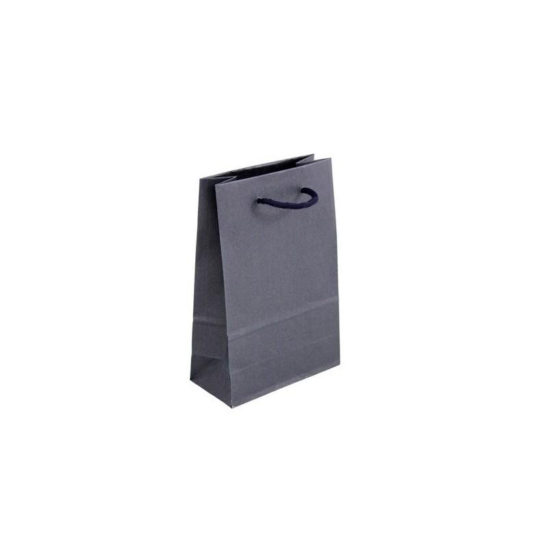 Dárková taška modrá Milano Blu 16x8x24