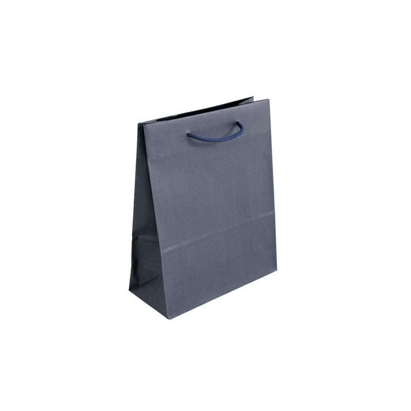 Dárková taška modrá Milano Blu 25x11x31