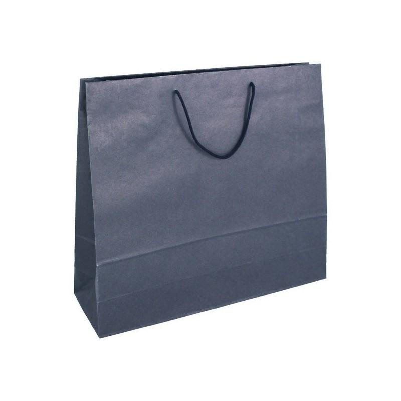 Papírová taška bílá Totwist 24x11x31