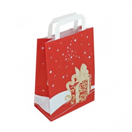 Červená taška Toptwist 32x14x42
