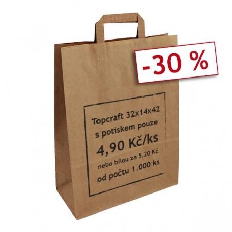 Oranžová taška Toptwist 32x14x42