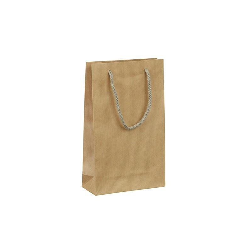 Papírová taška hnědá Siena 16x6x26