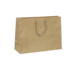 Papírová taška hnědá Siena 35x12x25