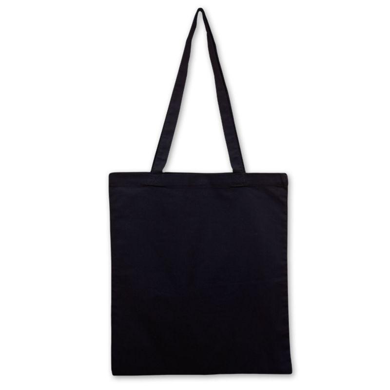 Bavlněná taška černá 135 gr - 38x42 cm