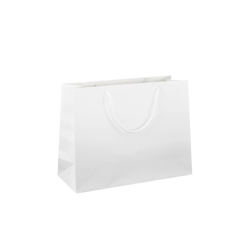 Dárková taška bílá Monza 37x12x29