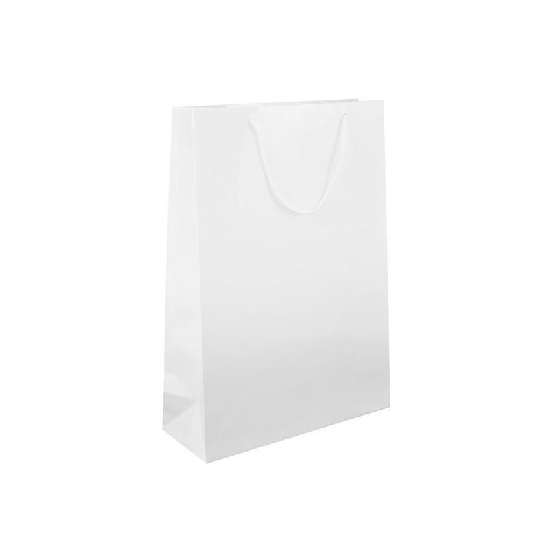 Dárková taška bílá Monza 34x13x48