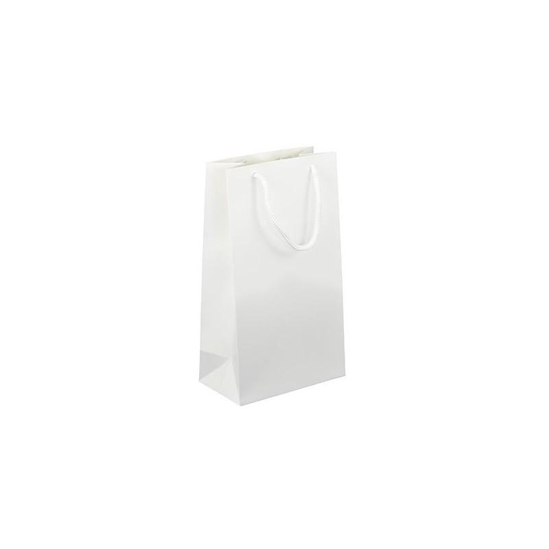 Dárková taška bílá Monza 16x9x28