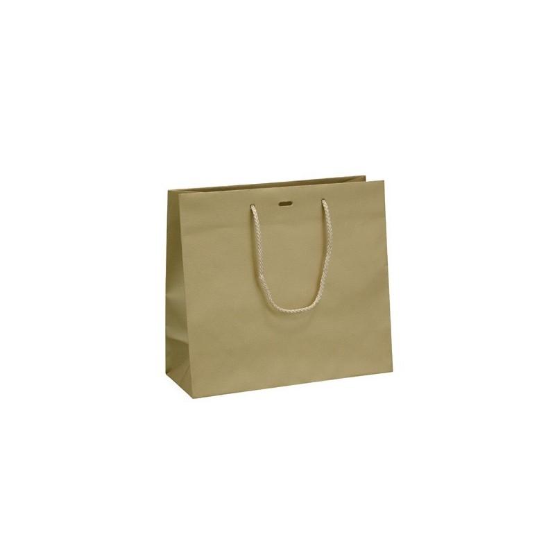 Dárková taška Gold 25x11x20