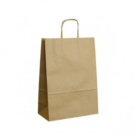 Vánoční taška modrá Gift 20x10x28