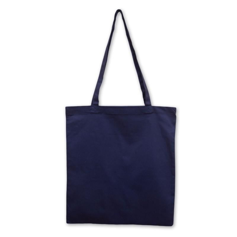 Bavlněná taška tmavě modrá 210 gr - 38x42 cm