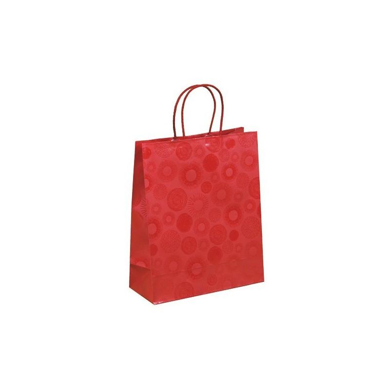 Červená taška Piccadilly 25x11x31