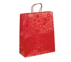 Papírová taška bílá Siena 35x12x25