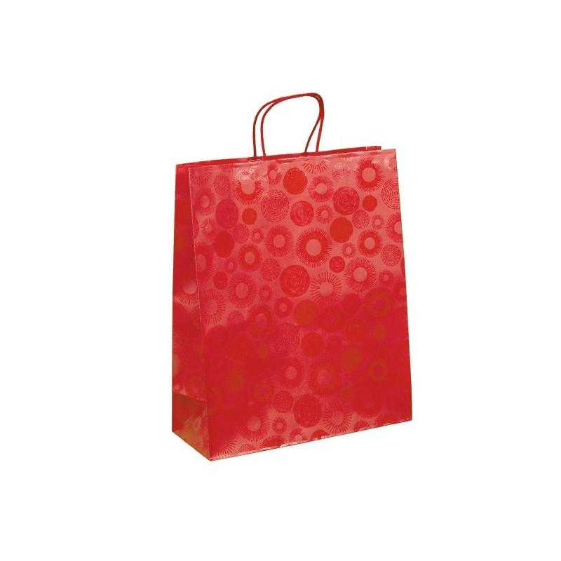 Červená taška Piccadilly 32x13x39