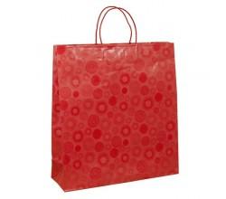 Papírová taška bílá Siena 35x10x40