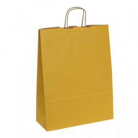 Papírová taška bílá Krafter 18x9x22