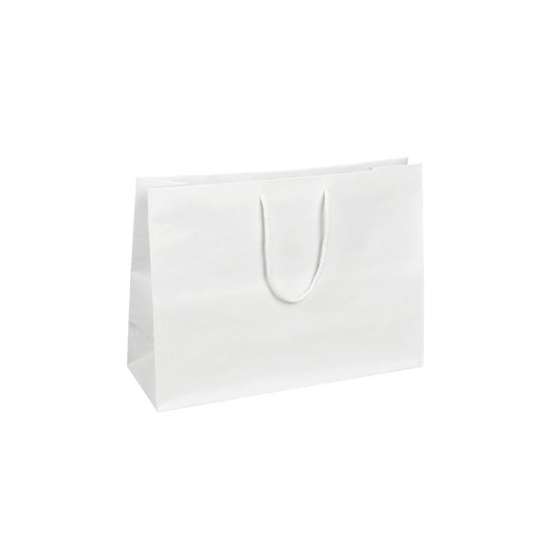 Papírová taška hnědá Topcraft 26x14x36