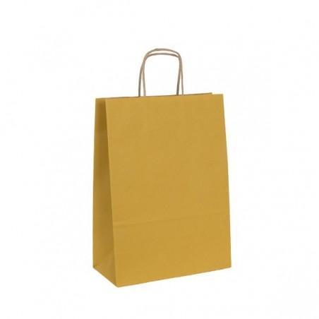 Papírová taška bílá Toptwist 19x8x21 - detail ucho