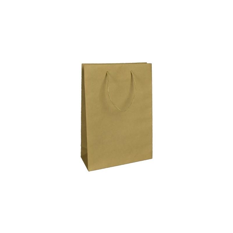 papírová taška hnědá Coloniale 25x11x36