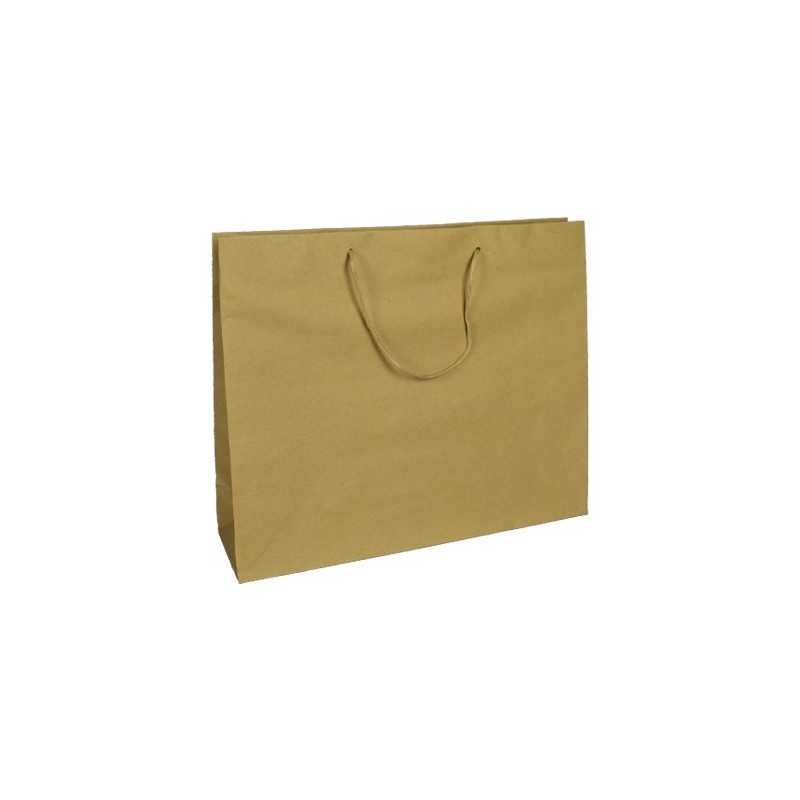 papírová taška hnědá Coloniale 41x12x35