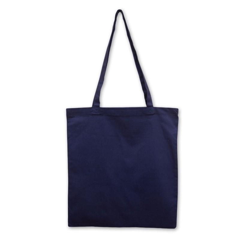 Bavlněná taška modrá 135 gr - 38x42 cm