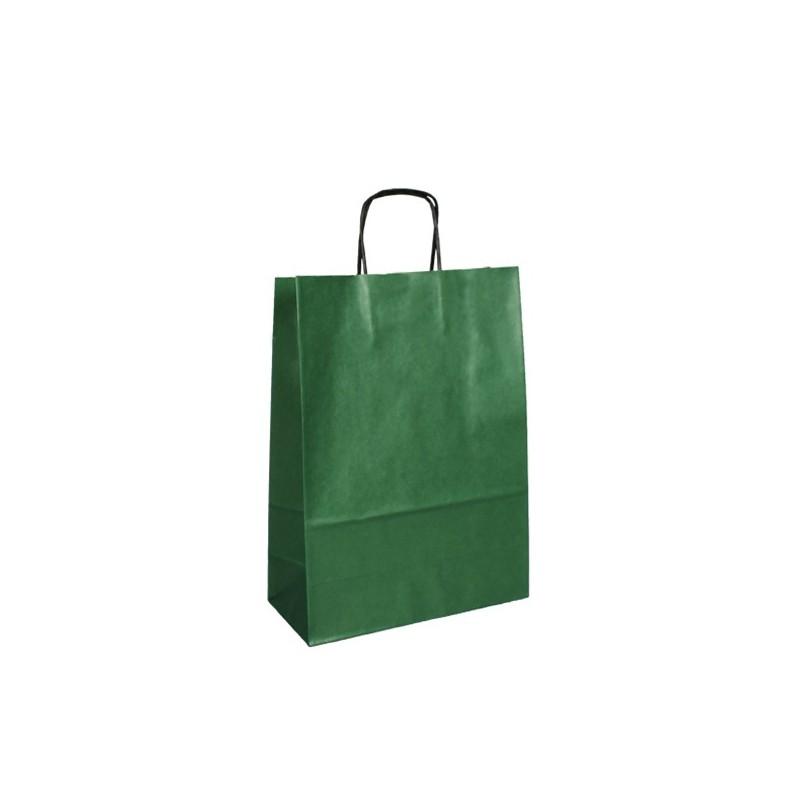 Zelená taška ExtraTWIST 24x11x33