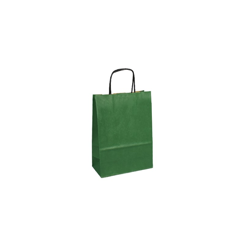 Papírová taška bílá ExtraTWIST 24x11x33