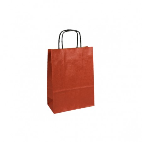 Papírová taška tmavě šedá Takeaway 26x18x27